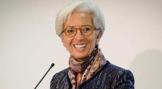 IMF Managing Director Christine Lagarde said the world could suffer from