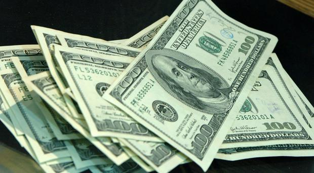 The dollar weakened on the back of the news