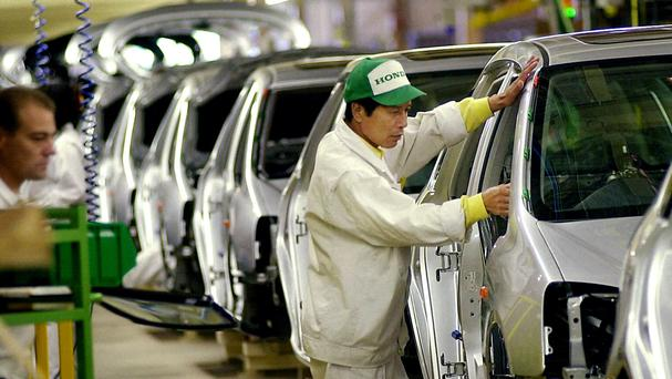 Car manufacturers including Honda, Nissan and Toyota all have major manufacturing bases in the UK