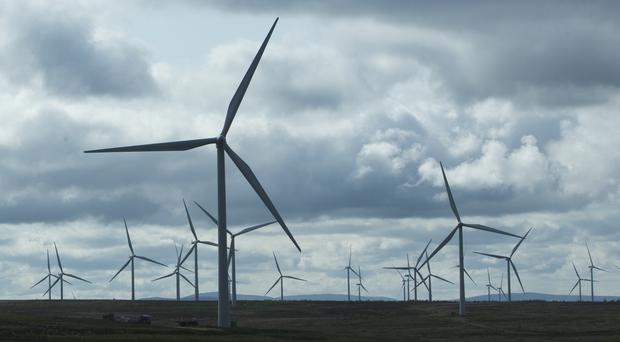 Many Scots would like electricity to be generated from renewable sources, a poll said