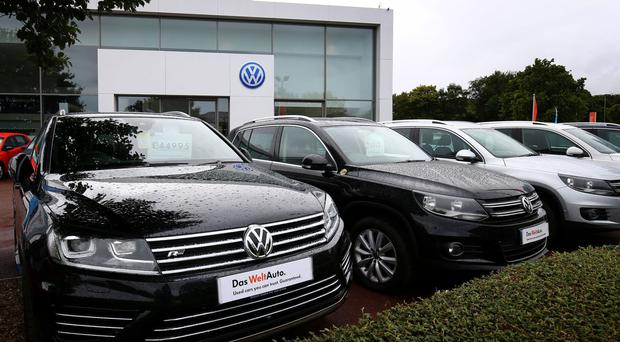 Volkswagen sales suffered as a result of the emissions scandal