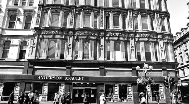 Anderson McAuley is one of many names to have disappeared from our high streets