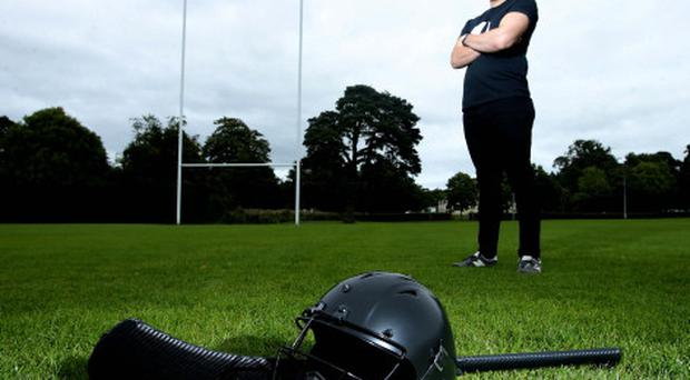 Evan Wagner has drawn inspiration from ice hockey helmets to design his hurling headwear