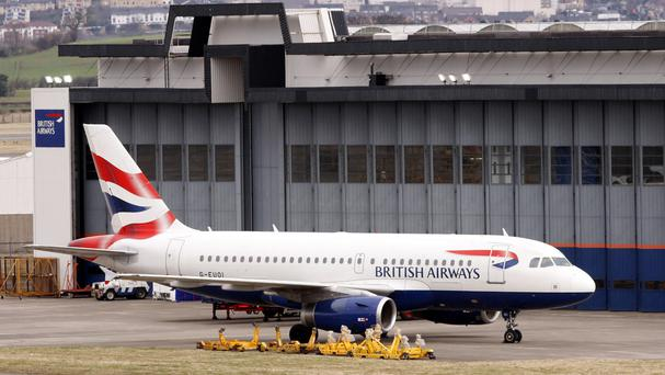 Angry British Airways passengers complained of hours queuing at airports