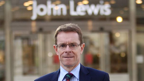 John Lewis managing director Andy Street