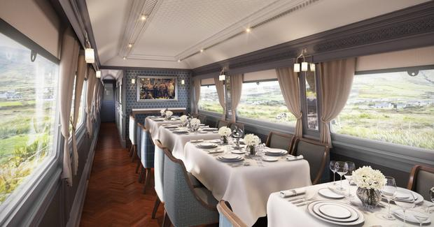 Mivan Marine did the fit out work for the dining car and one of the cabins on the Belmond Grand Hibernian train.