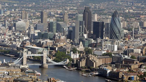 A report has revealed job vacancies in London's powerhouse financial sector brushed aside Brexit uncertainty to grow last month