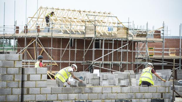 The Office for National Statistics said construction output was flat in July compared to a 1% drop in June, helped in part by a jump in house building