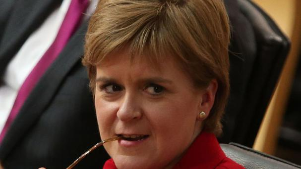 Nicola Sturgeon urged Westminster to fulfil pledges