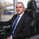 Chris Conway is in the driving seat at Translink
