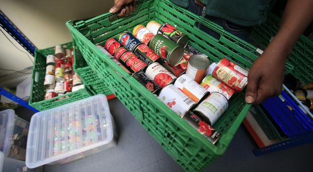 While some are doing better, some lack bank accounts, use food banks and suffer eviction, a report says