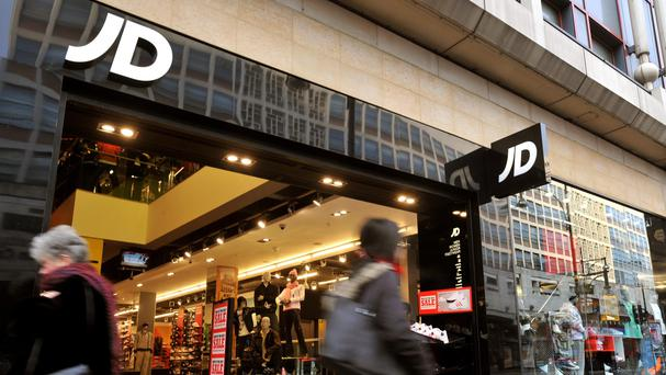 JD Sports said that pre-tax profit rocketed 66% to £77.4 million
