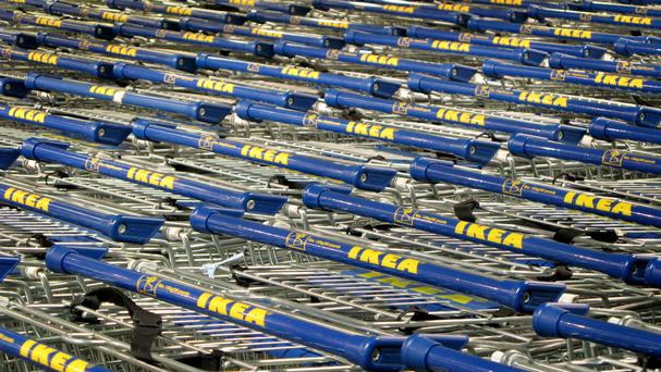 Ikea said that 783 million customers walked through its doors over the past 12 months