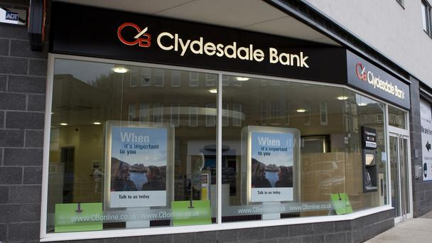 Fifty branches of Clydesdale Bank are to shut.