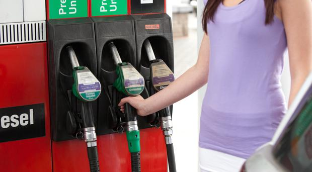 Fuel prices fell in August
