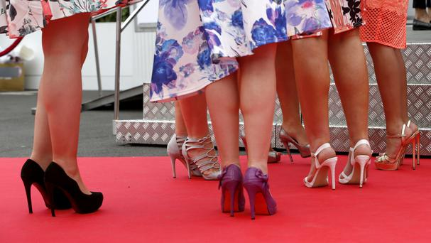 Frances O'Grady said high heels should be a choice, not a condition of a job
