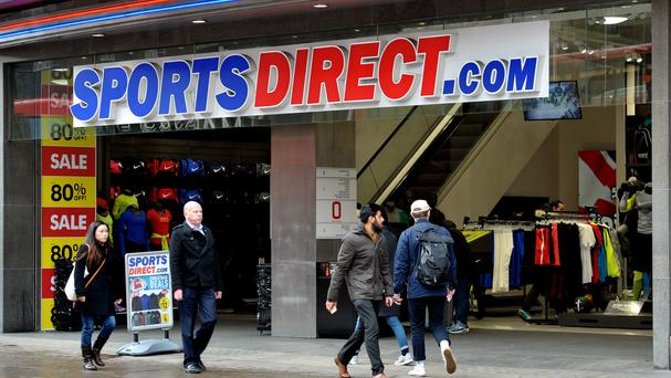 Sports Direct urged to drop employment agency