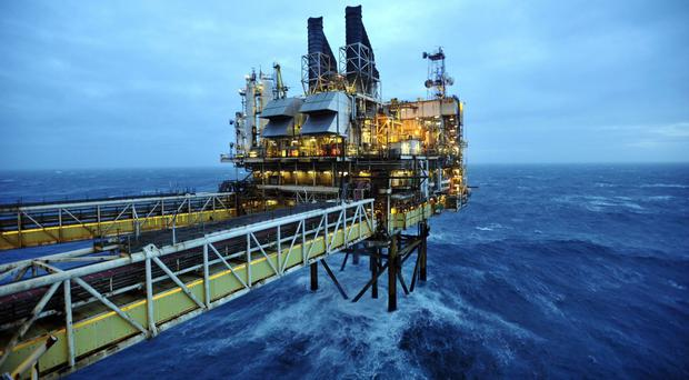 Scottish Government statistics show provisional sales income from North Sea oil and gas fell to £13.4 billion
