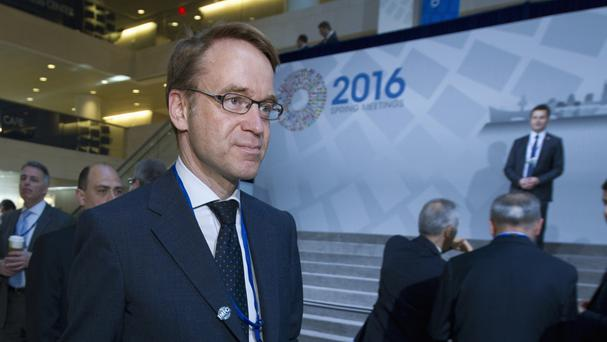 Jens Weidmann said passporting rights for City banks are tied to the single market