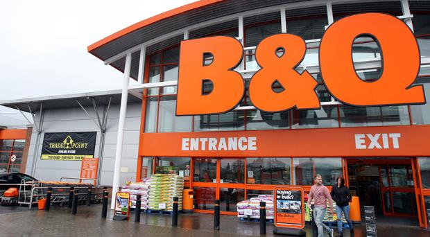 B&Q's like-for-like sales rose 4.6%