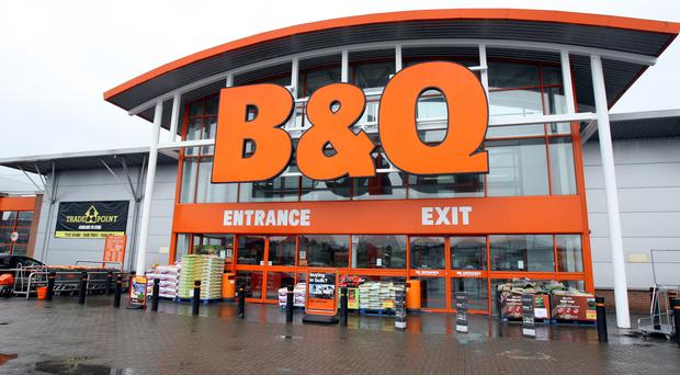 B&Q owner Kingfisher has reported a rise in first-half profits following a