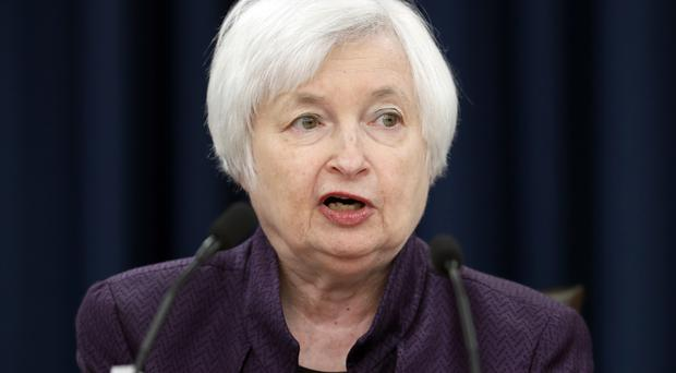 Janet Yellen announces that the Federal Reserve is keeping its key interest rate unchanged (AP)