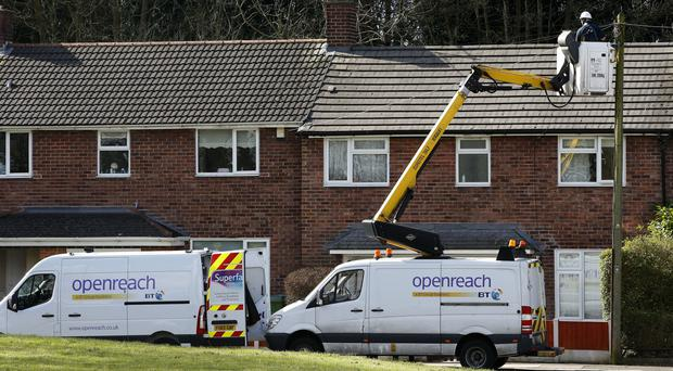 Openreach is taking on 180 engineers and 35 apprentices in Scotland