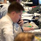 The Institute for Public Policy Research said financial sector vacancies fell 10.1% across England