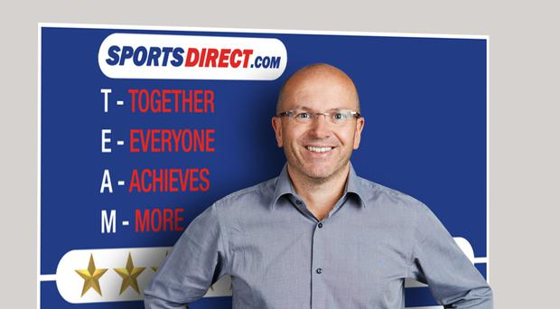 Dave Forsey has resigned from Sports Direct