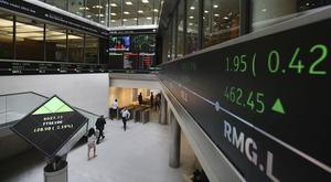The FTSE 100 closed two points lower at 6909.4 points