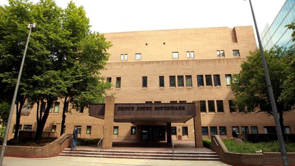The trial is being held at Southwark Crown Court