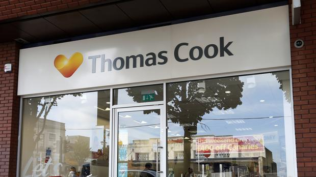 Thomas Cook said Britons are still keen to take their holidays abroad but are choosing different destinations