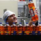 Irn Bru maker AG Barr said total revenues fell 4% to £125.6 million for the six months ending in July
