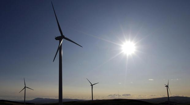 Pearse McHenry (30), managing director of BHC Distributors, said it will run the new development solely with wind and solar energy. File image