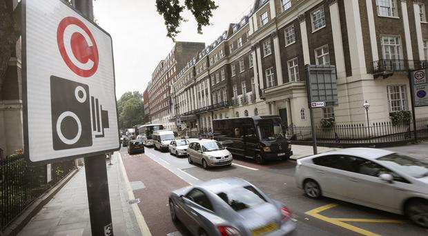 One-off costs incurred on a Transport for London congestion charging contract were partly blamed