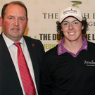 Jim Treacy with Rory McIlroy