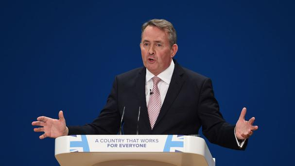 Liam Fox also attacked critics of Brexit who suggested a vote to leave the EU would result in businesses abandoning the UK