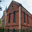 The former Dunmurry Presbyterian Church sale includes a two acre park and a semi-detached house
