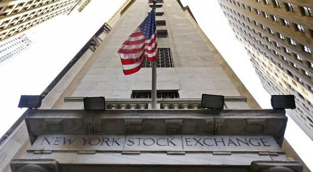 The Dow Jones industrial average fell 54.30 points (AP)