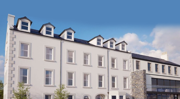 The new Hagan Homes development in Carrick which supports the UK's recovery in house building