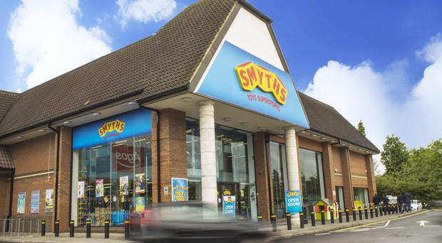Smyths Toys, one of the new tenants at the expanding Valley Retail Park in Newtownabbey