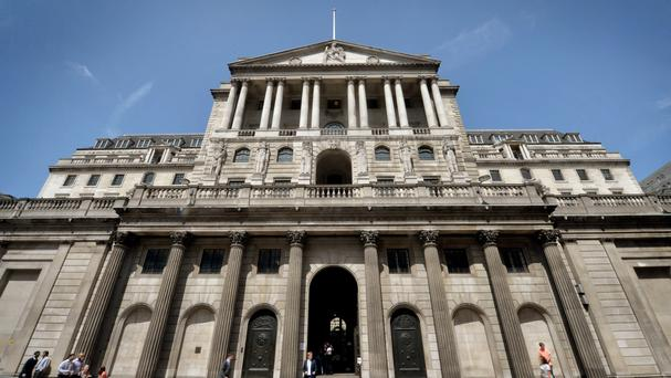 The deputy governor of the Bank of England said the pound's rapid slide, and a general easing in financial conditions, have supported the economy