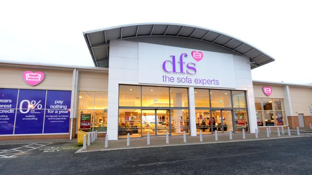 DFS said full-year pre-tax profits rose from £10.7 million to £64.5 million in the year to July 30
