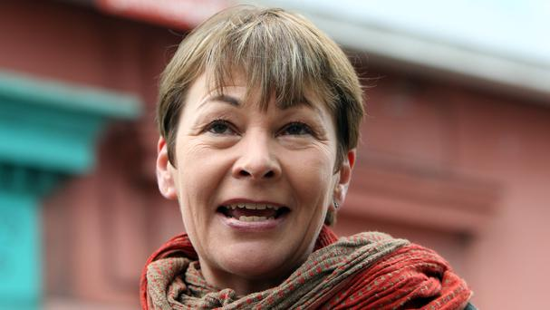 Caroline Lucas said ministers ignored local people who objected to plans for shale gas exploration