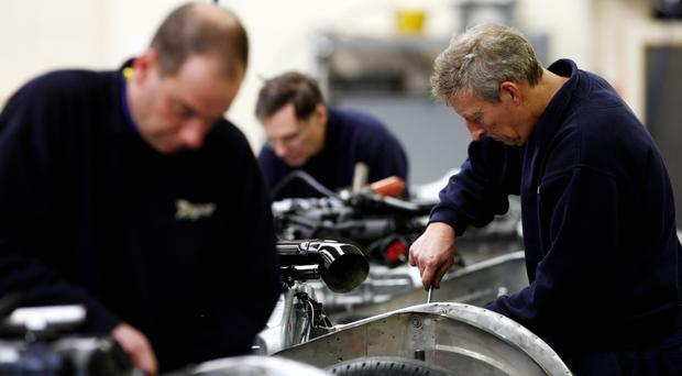 Figures show manufacturing output rose 0.2% in August
