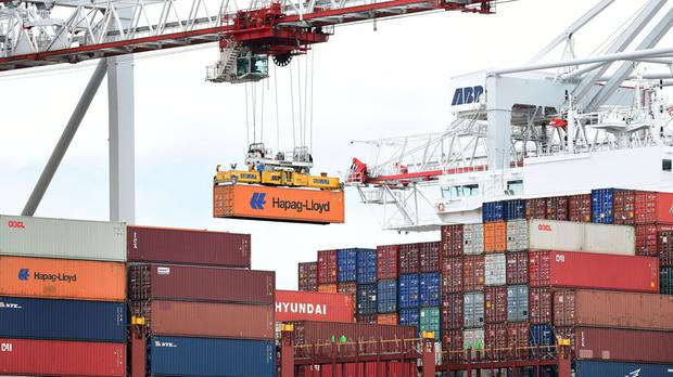 The figures showed that imports rose by £2.6 billion, while exports only grew by £100 million