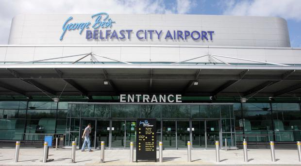 The woman claims a taxi driver who picked her up at the City Airport ripped up her return flight ticket and took her to work at a brothel in the Republic.