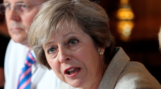 The PM is leaning towards a 'hard Brexit''