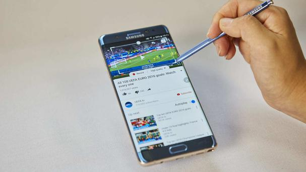 The new Galaxy Note 7 (Samsung/PA)