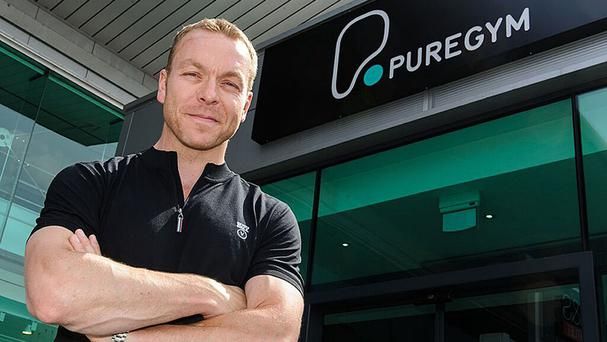 Pure Gym brand ambassador Sir Chris Hoy, as the fitness chain scrapped plans for a stock market flotation